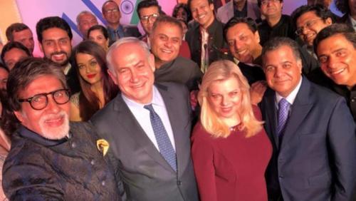 Israeli Prime Minister Netanyahu in India