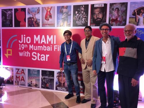 Closing night party at Mumbai Film Festival 2017