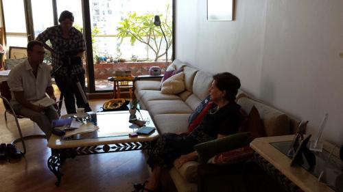 Interview with Sulochana's cousin Ruby Mordecai